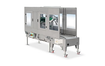 Box-closing machines with automatic sizing setting and flap closer